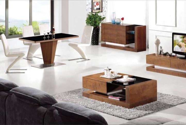 glamorous living room tables glass tv