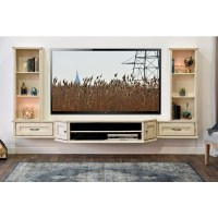 50 Photos Wall Mounted TV Stands Entertainment Consoles ...