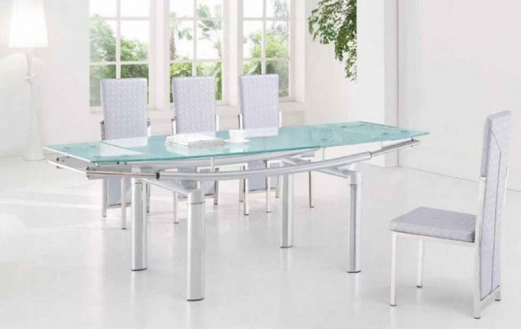 Top 20 Extendable Glass Dining Tables  Dining Room Ideas
