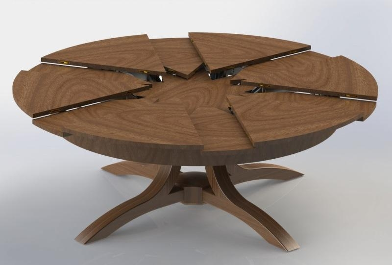 20 Ideas Of Small Round Extending Dining Tables Dining