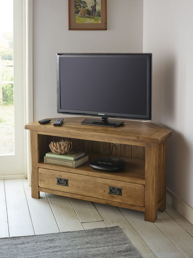 50 Collection of Solid Wood Corner TV Cabinets  Tv Stand
