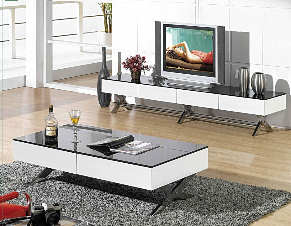 50 Ideas Of Long TV Stands Furniture