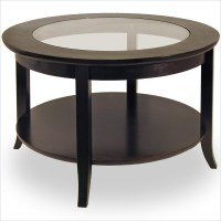 Round Glass and Wood Coffee Tables | Coffee Table Ideas