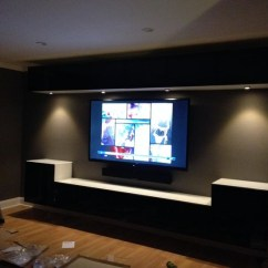 Corner Tv Stand Ideas For Living Room Chocolate Brown Set 50 Photos Wall Mounted Stands Entertainment Consoles ...