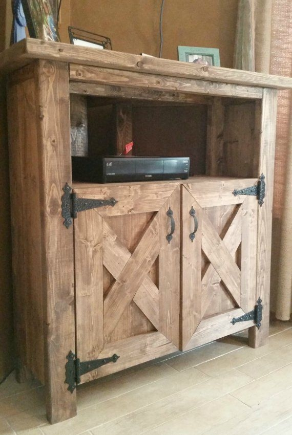 50 Best Collection of Rustic Corner TV Cabinets  Tv Stand