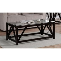 49 Best Collection of Black Wood and Glass Coffee Tables ...