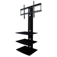 50 Best Ideas Wall Mounted TV Stands With Shelves | Tv ...