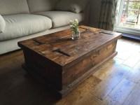 50+ Rustic Storage DIY Coffee Tables