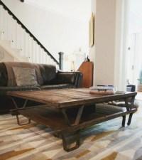 50+ Rustic Storage DIY Coffee Tables | Coffee Table Ideas