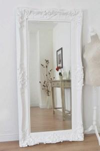 20 Ideas of White Decorative Mirrors   Mirror Ideas