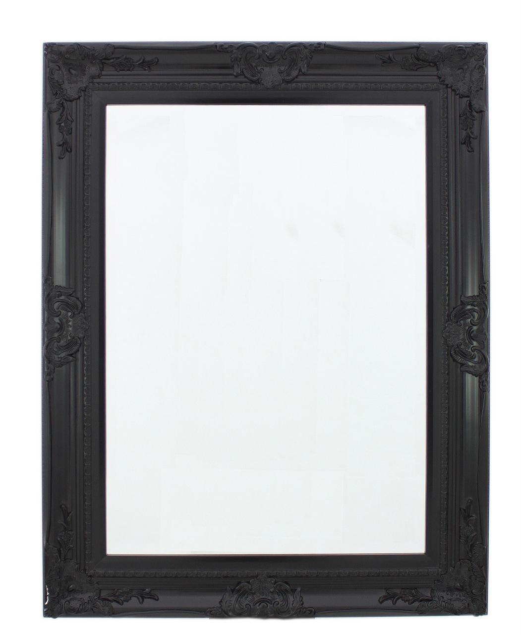 20 Inspirations Baroque Black Mirror Mirror Ideas