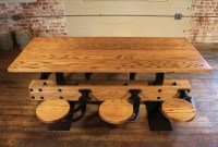 20+ Dining Tables With Attached Stools | Dining Room Ideas