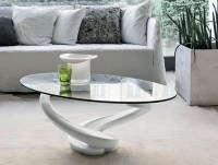 50 Collection of Oval White Coffee Tables | Coffee Table Ideas