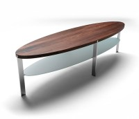 50 Ideas of Oval Wood Coffee Tables | Coffee Table Ideas