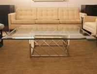 50 Collection of Chrome and Glass Coffee Tables | Coffee ...