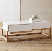 40 Best Collection of White Wood and Glass Coffee Tables ...