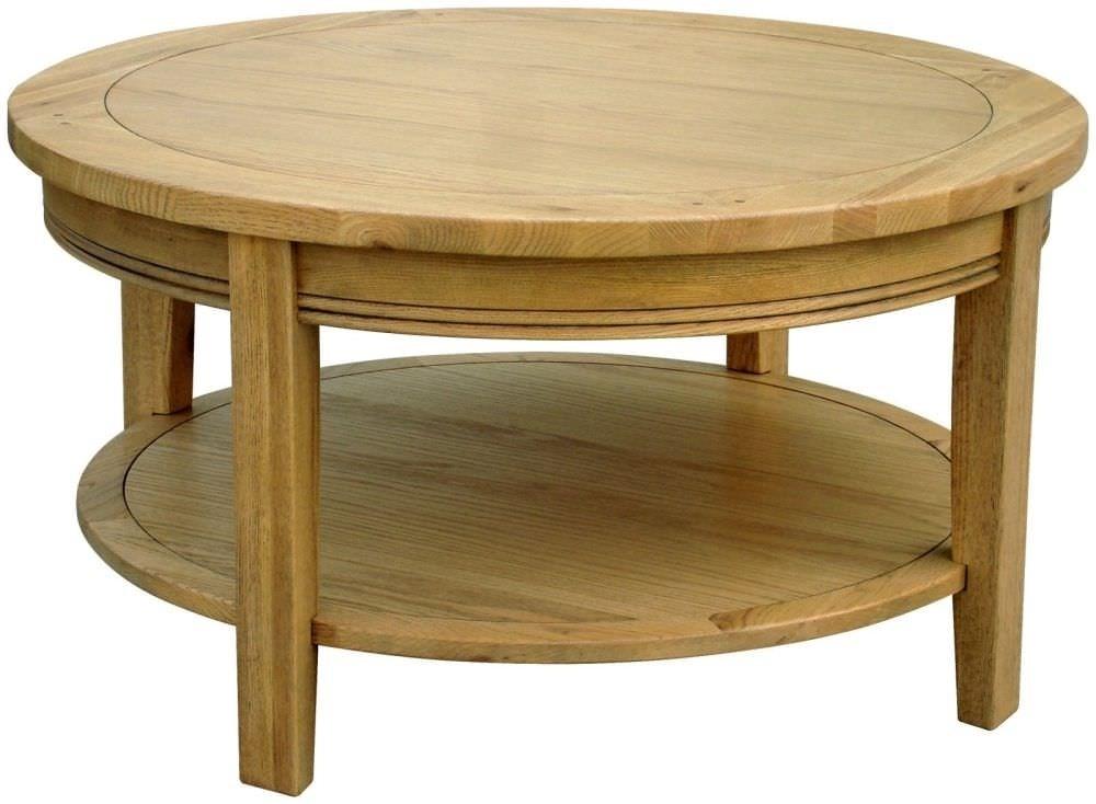 Round Oak Coffee Tables  Coffee Table Ideas