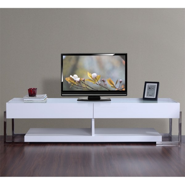 Modern White Lacquer Tv Stands Stand Ideas