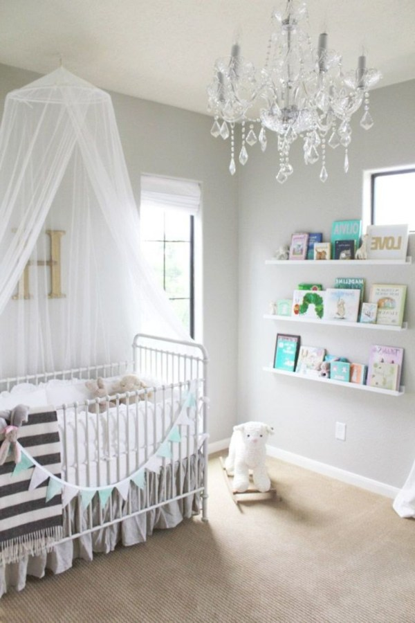 Ideas Of Cheap Chandeliers Baby Girl Room