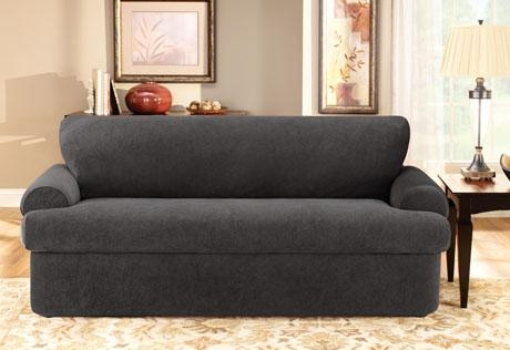 sure fit stretch pique 3 piece t cushion sofa slipcover cheap sofas 20 ideas of loveseat slipcovers pieces |
