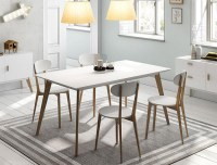 Dining Tables With White Legs and Wooden Top | Dining Room ...