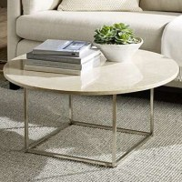 50+ Glass and Stone Coffee Table
