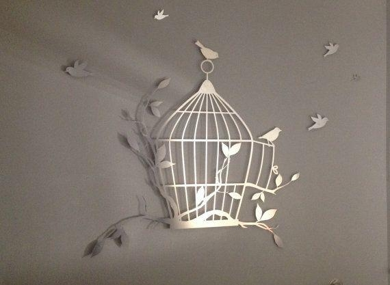20 Collection of Flying Birds Metal Wall Art Wall Art Ideas