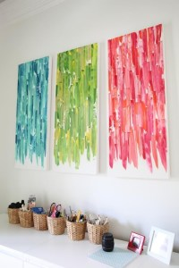 Top 20 Diy Pinterest Canvas Art | Wall Art Ideas