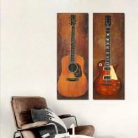Top 20 Musical Instrument Wall Art | Wall Art Ideas