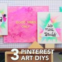 Top 20 Diy Pinterest Canvas Art   Wall Art Ideas
