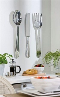 20 Ideas of Oversized Cutlery Wall Art | Wall Art Ideas