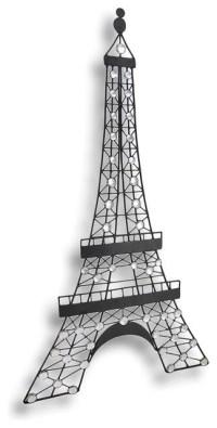 20 Best Metal Eiffel Tower Wall Art   Wall Art Ideas