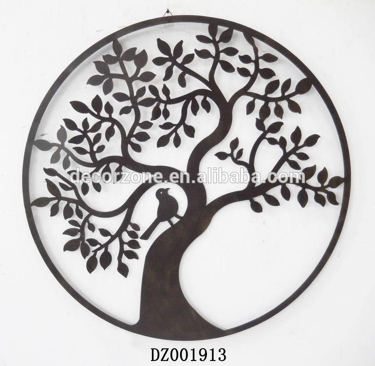 20 Best Wrought Iron Tree Wall Art