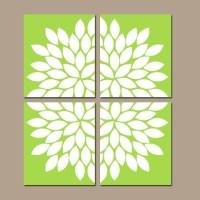 Lime Green Wall Art | Wall Art Ideas