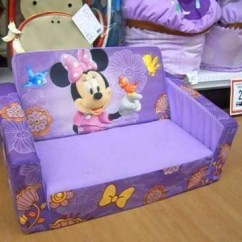 Mickey Mouse Clubhouse Flip Open Sofa With Slumber Bed Mattress Foldable For 20 Collection Of Couches   Ideas