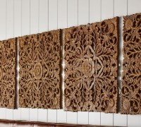 20 Best Wood Carved Wall Art Panels | Wall Art Ideas