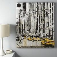 20 Ideas of Unique Modern Wall Art
