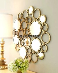Small Round Mirrors Wall Art | Wall Art Ideas