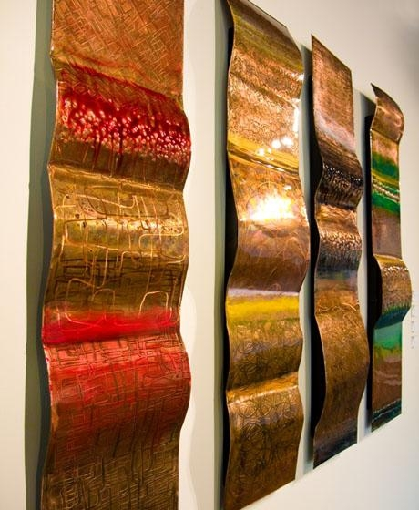 20 Collection of Copper Outdoor Wall Art