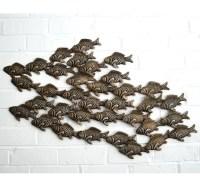Top 20 Fish Shoal Metal Wall Art | Wall Art Ideas