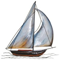 20 Inspirations Sailboat Metal Wall Art | Wall Art Ideas