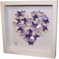 20 Collection of 3D Butterfly Framed Wall Art | Wall Art Ideas