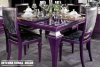20 Best Ideas Dining Tables and Purple Chairs | Dining ...