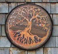 20 Ideas of Tree of Life Wood Carving Wall Art | Wall Art ...