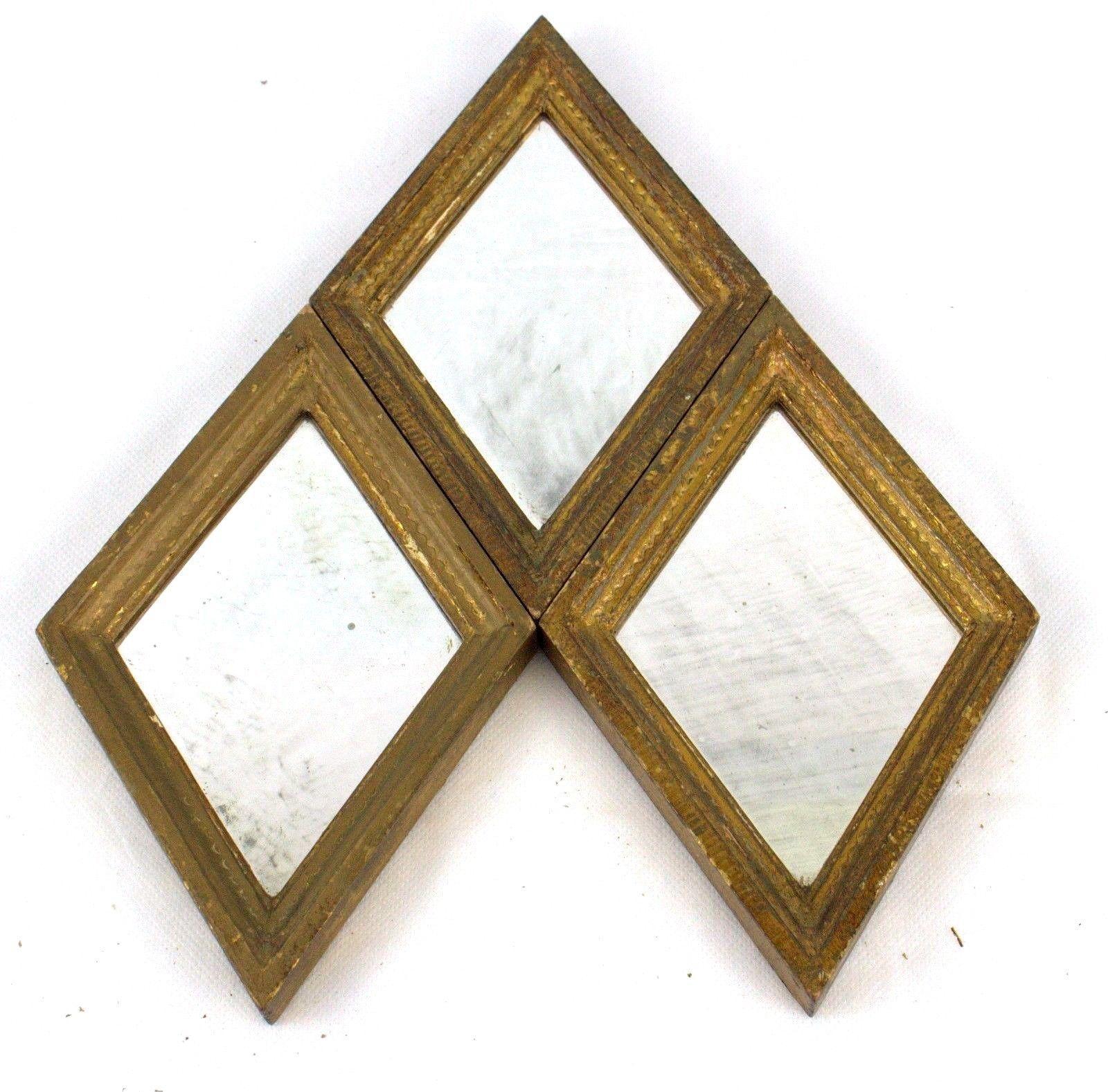 20 Best Small Diamond Shaped Mirrors