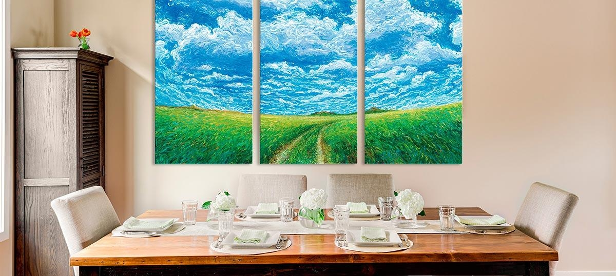20 Best Ideas Three Piece Canvas Wall Art