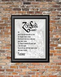 20 Best Ideas Led Zeppelin Wall Art | Wall Art Ideas