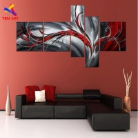 20 Collection of Red and Black Canvas Wall Art | Wall Art ...