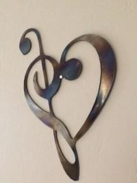 20 Inspirations Heart Shaped Metal Wall Art