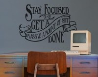 20 Collection of Inspirational Wall Decals for Office ...